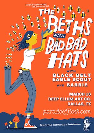 NSFWknd: The Beths • Bad Bad Hats • Black Belt Eagle Scout • Barrie