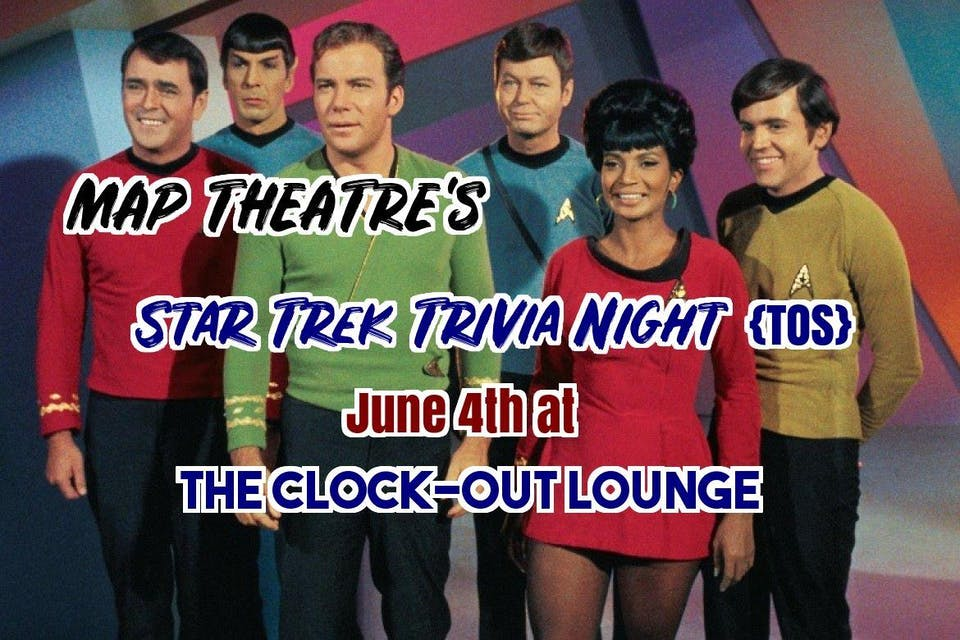 Star Trek Trivia Night {TOS}