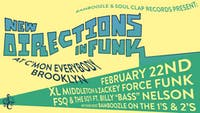 "XL Middleton & Zackey Force Funk , FSQ & The SQs fr. Billy ""Bass"" Nelson"