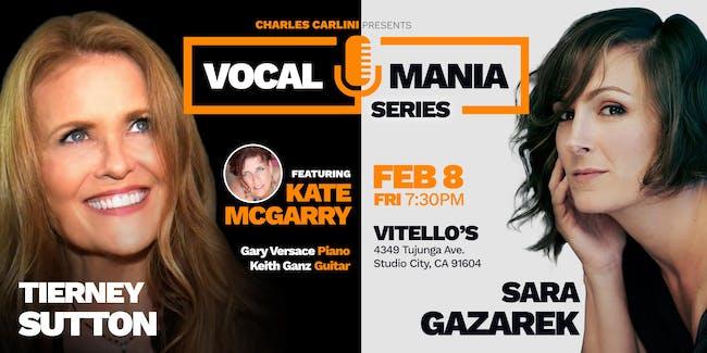 Tierney Sutton & Sara Gazarek: Vocal Mania
