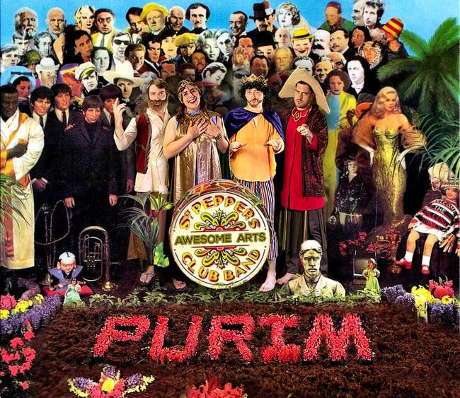 A Very Beatles Purim