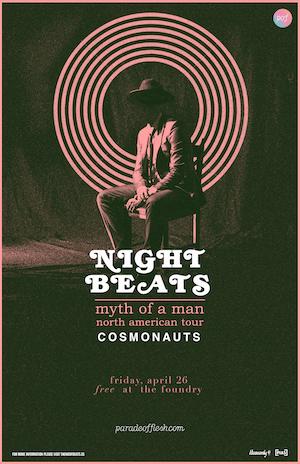 [FREE SHOW] Night Beats •  Cosmonauts