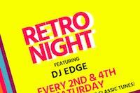Retro Night w/ DJ Edge