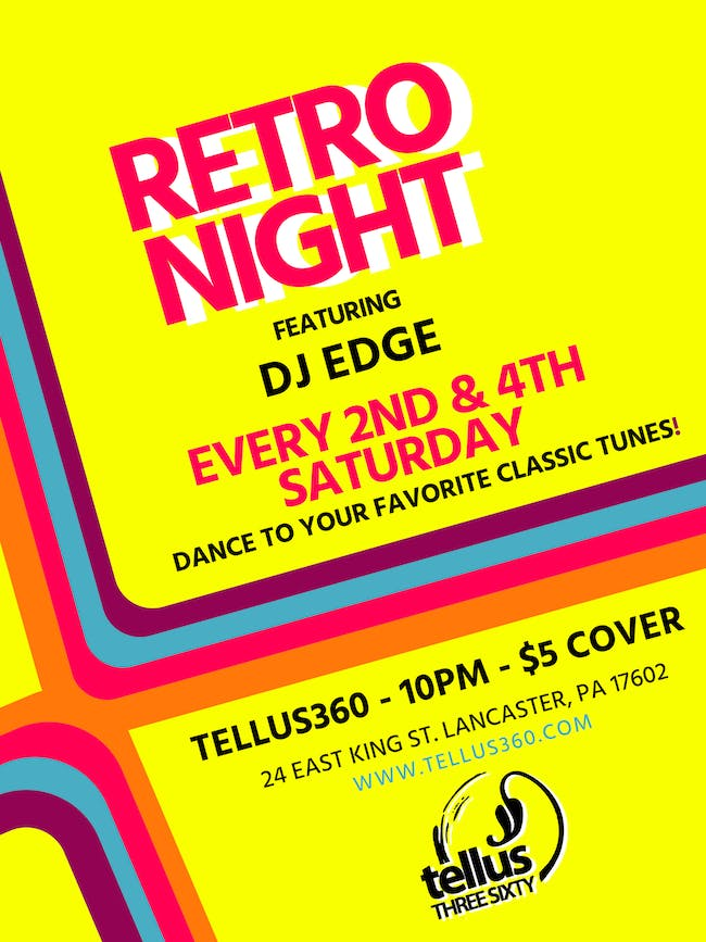 Retro Night w/ DJ Edge