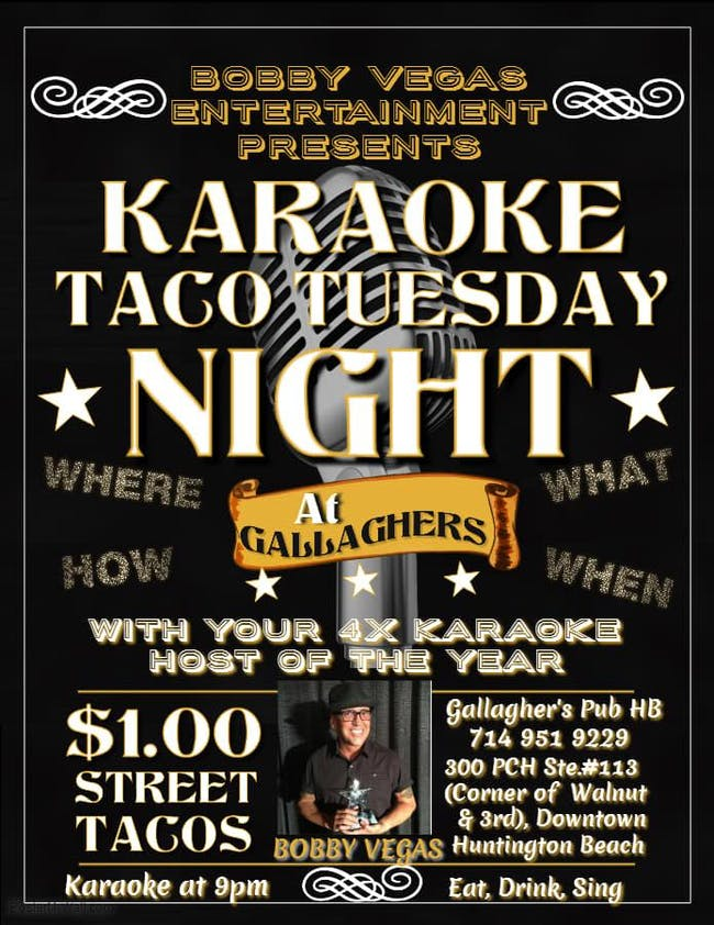 Karaoke Every Tuesday