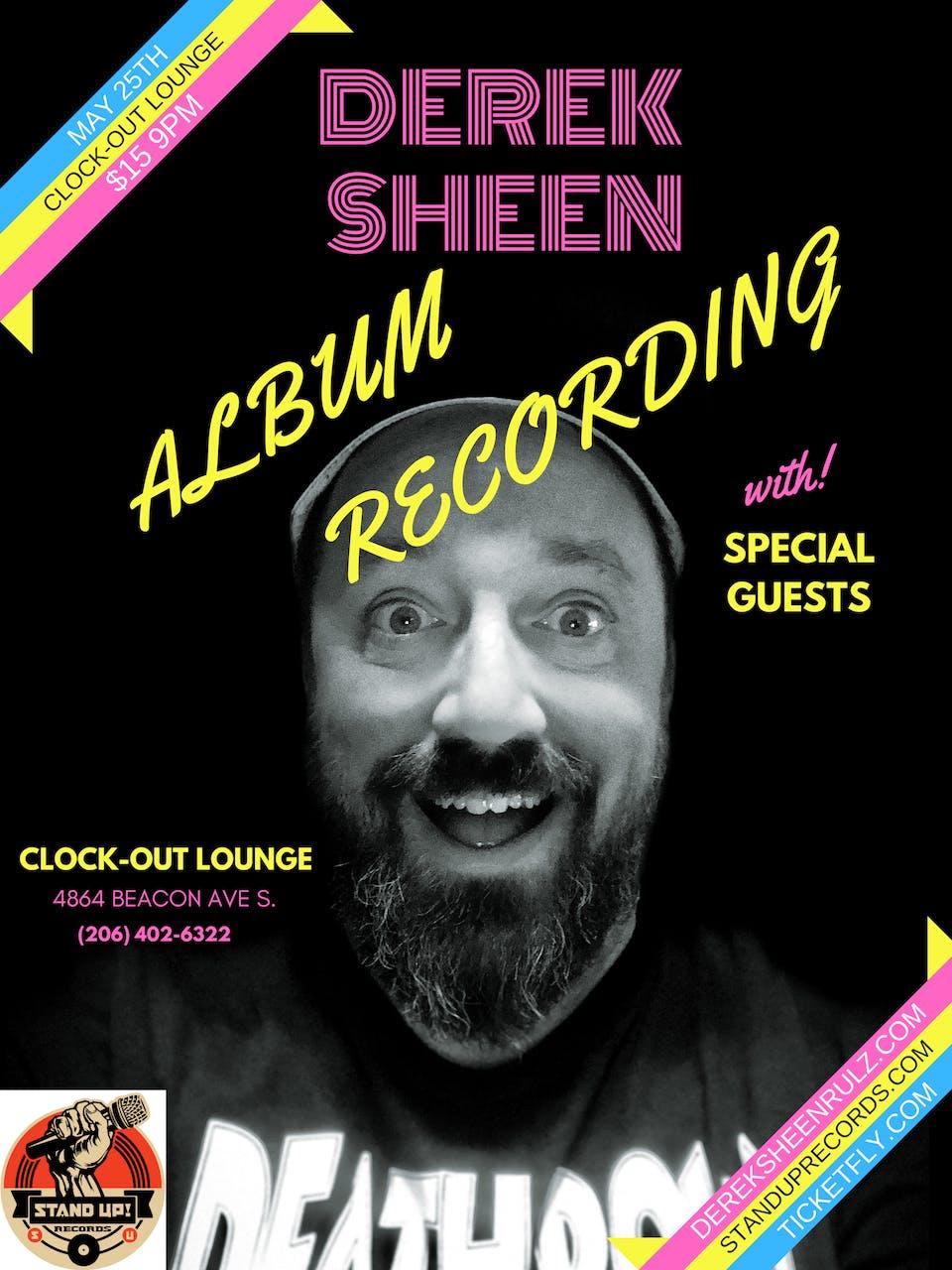 Derek Sheen Live Album Recording