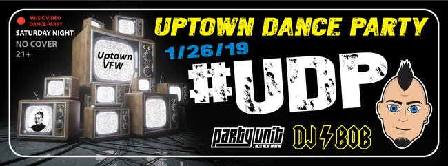 Uptown Dance Party w/ DJ Bob - Music Video Dance Party