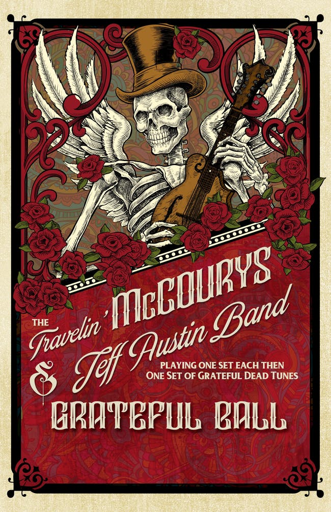Grateful Ball featuring The Travelin' McCourys & Jeff Austin Band