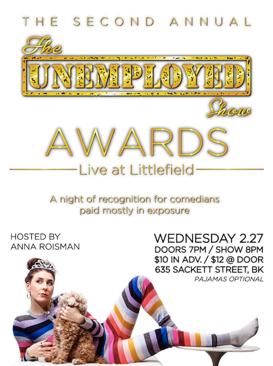 The Unemployed Show Awards