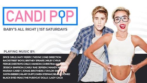 Candi Pop - A Bubblegum Pop Dance Party