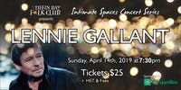 Intimate Concert Series: Lennie Gallant