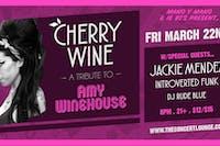 Cherry Wine Tribute to Amy Winehouse
