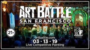 Art Battle San Francisco - March 13, 2019
