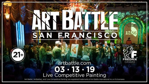 Art Battle San Francisco - March 13, 2019