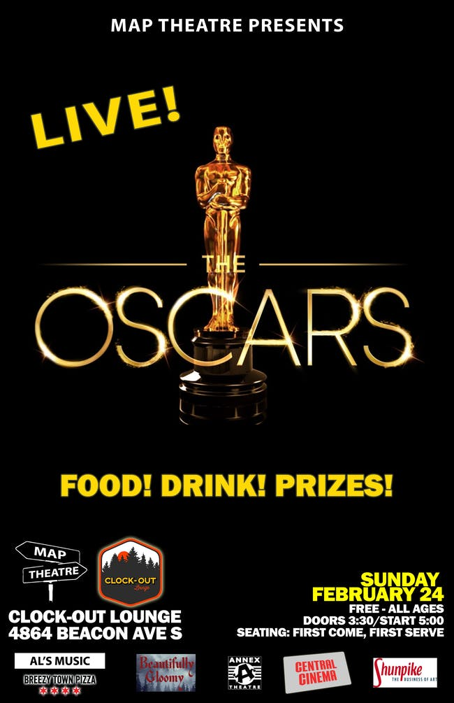 The Oscars Live Viewing Party