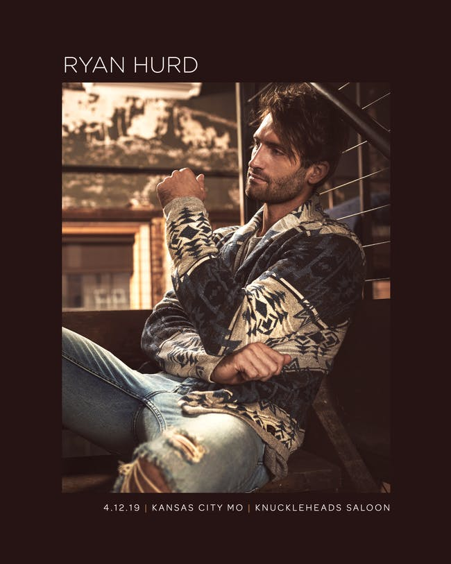 RYAN HURD ( To A Tour)with special guest Ryan Beaver