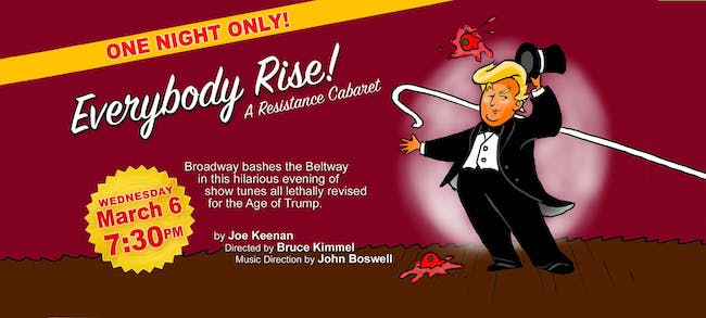 Everybody Rise! A Resistance Cabaret
