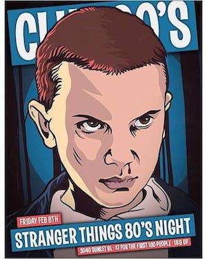 Club 90's : Stranger Things 80s Night • 2 Floors of Dancing