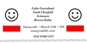 Gabe Greenland, Noah Chenfeld, Avinoam, Rowen Kahn