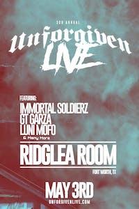 3rd Annual Unforgiven Live - Immortal Soldierz & More