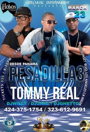 Pesadilla3 Y Tommy Real Tour USA