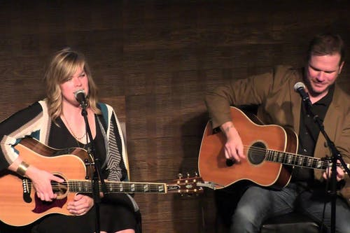 Jason Eady & Courtney Patton in the Legendary Gospel Lounge