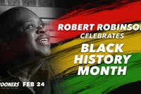 Robert Robinson Celebrates Black History Month