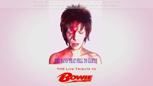 The Band That Fell to Earth - David Bowie Tribute