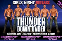 Thunder From Down Under - First Showing