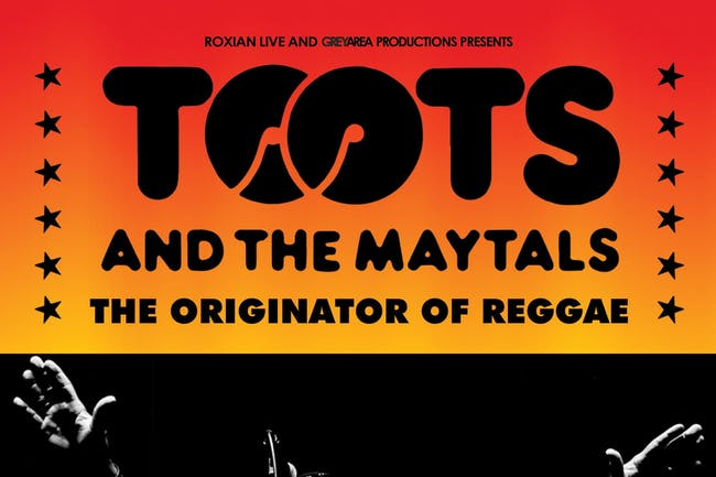 Toots & The Maytals - Live In Concert