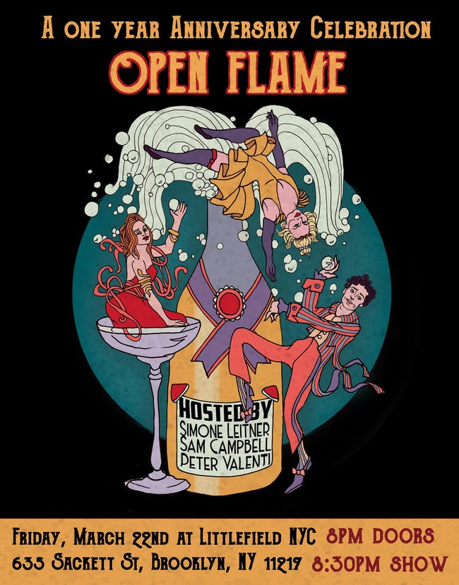 Open Flame: A One Year Anniversary Celebration