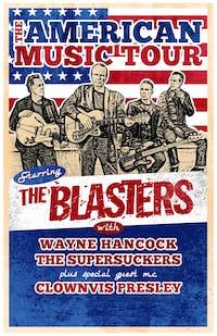 The Blasters, Wayne Hancock, The Supersuckers, Clownvis Presley