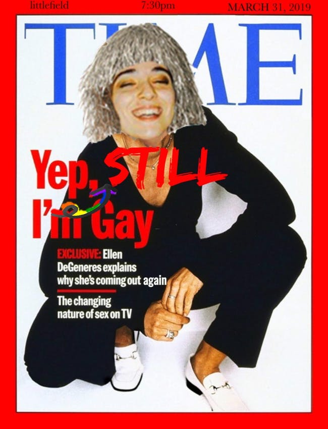 Ellen Degenerous: Yep, I'm Still Gay