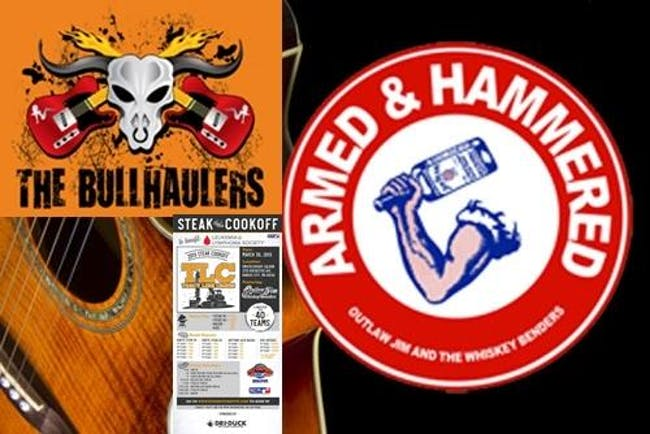 Outlaw Jim/Whiskey Benders w/JustaBilly/BullhaulersLymphoma/LeukemiaBenefit