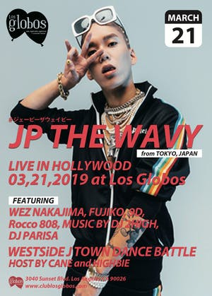 JP THE WAVY: Live In Hollywood