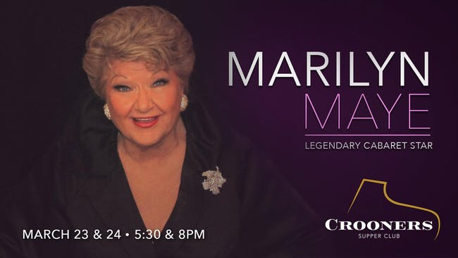 Marilyn Maye - 8pm