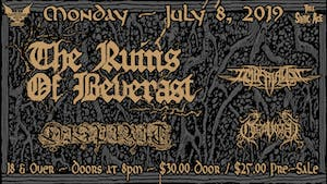 Thee Static Age presents The Ruins of Beverast