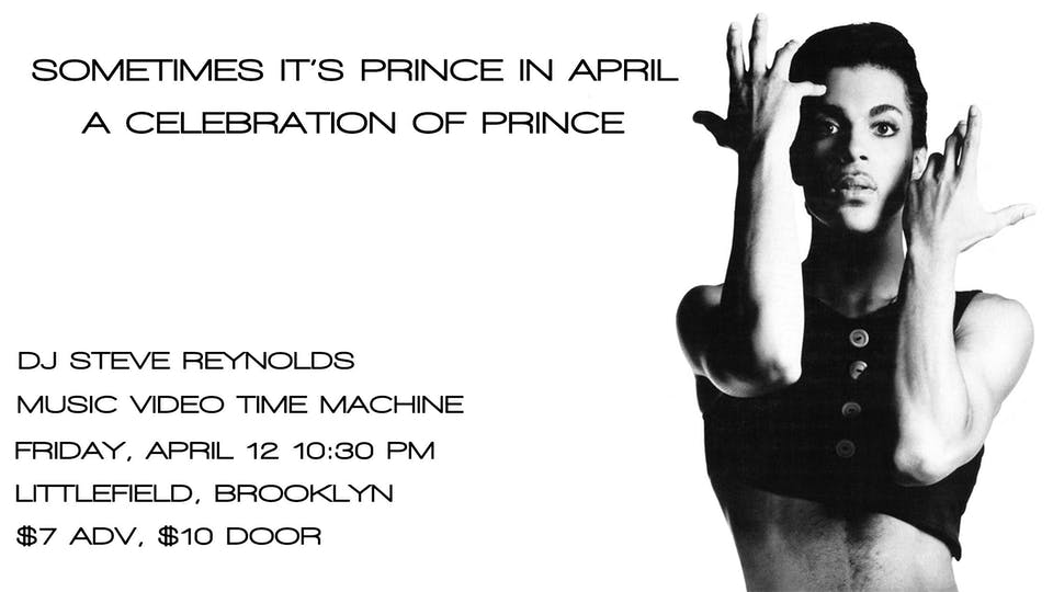 Sometimes It's Prince In April: A Celebration of Prince