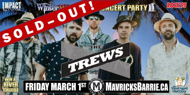 THE TREWS  SOLD-OUT!