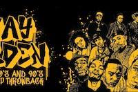 Stay Golden 2:  An 80's & 90's Hip Hop Throwback feat.  DJ Shane T