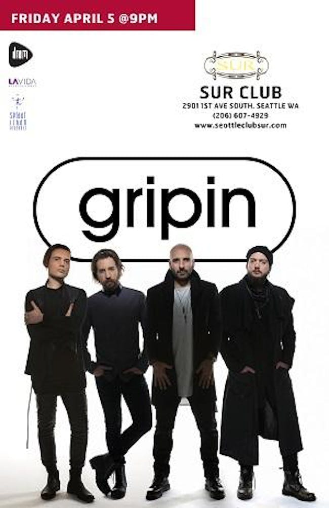 Gripin From Istanbul.  21 + (Click here for Ticket Link)