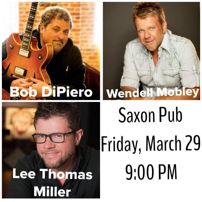 In the Round: Bob DiPiero, Wendell Mobley and Lee Thomas Miller