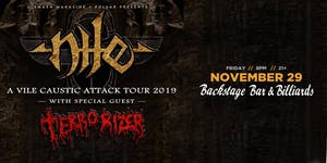 Nile with Terrorizer