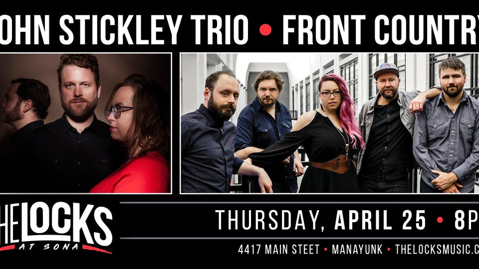Jon Stickley Trio & Front Country Co-Bill