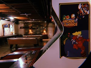 EVERY MONDAY: FREE GAMES ALL NIGHT & $1 OFF DRAFT BEER