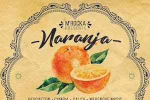NARANJA: Reggaeton + Cumbia + Salsa + Merengue