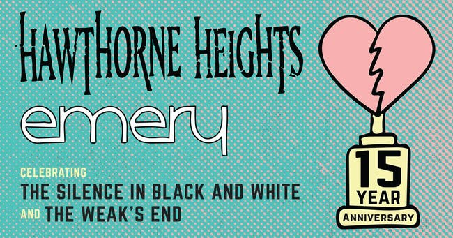 Hawthorne Heights & Emery @ 20th Century Theater (6/6)