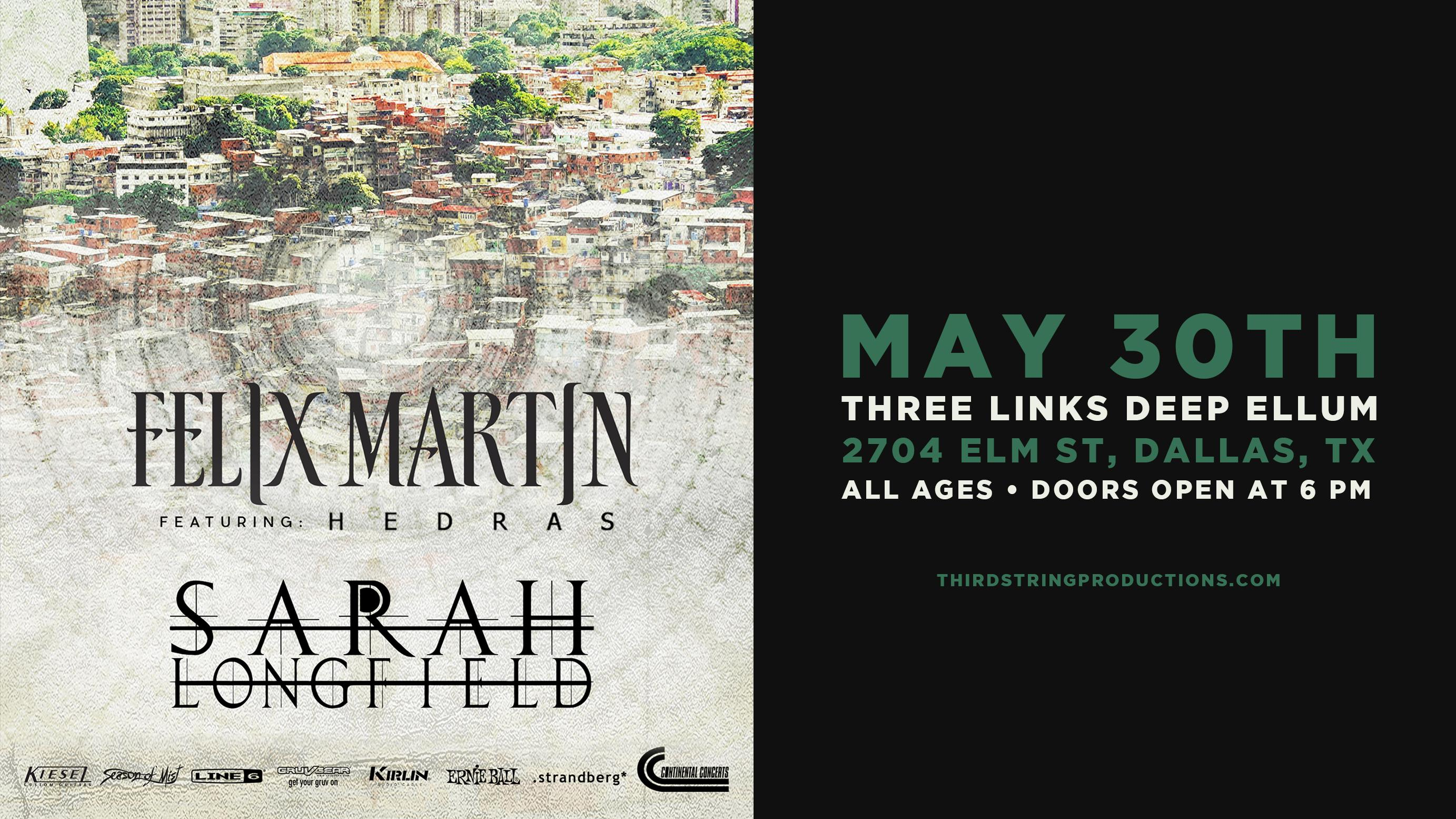 Felix Martin (Album Release Tour) with Sarah Longfield