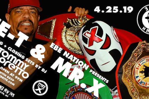 EBE Nation presents ICE-T & MR. X