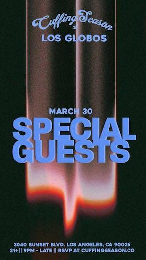 Cuffing Season LA FINALE 3/30 feat. Parisa + Surprise Special Guests!